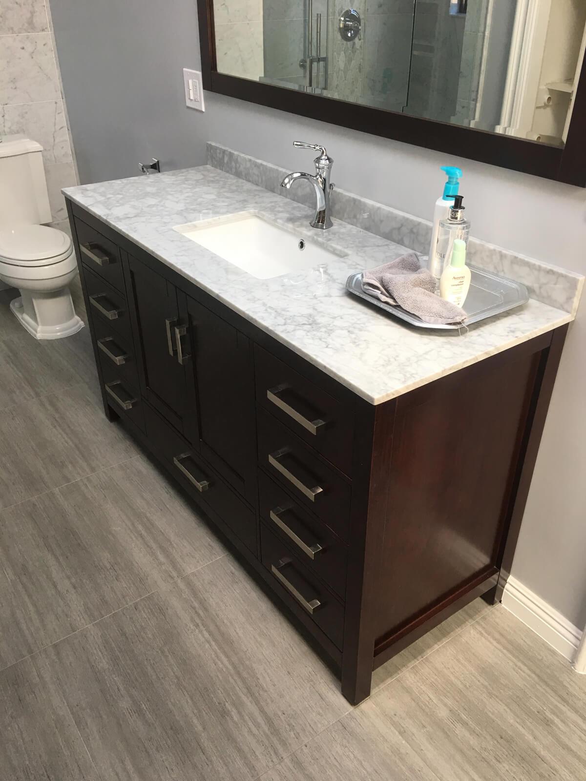 19 - Laraine Project - Los Angeles - Bathroom Remodel Reconfiguration